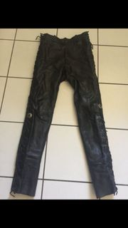 Lederhose Motorradhose