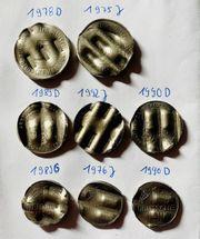 amtlich entwertete Münzen Schreddergeld 2 x