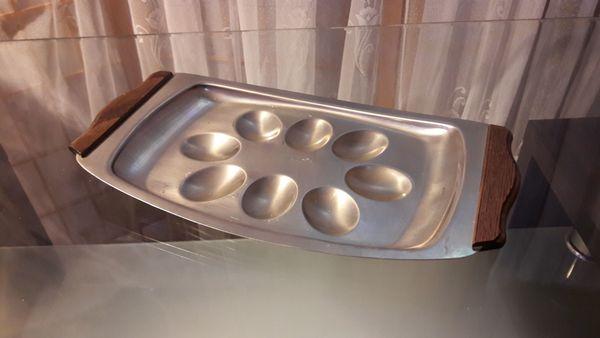 Eierteller Eierplatte Servierplatte für 8