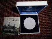 Meissner Porzellan Medaille
