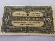 20 Korona Banknote 1920 zu