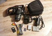 Canon EOS 600D und ein