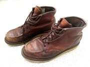 Red Wing Shoes Boots Moc