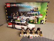 Lego Ideas Ghostbusters auto mit