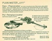 Scheibenrollplanimeter OTT