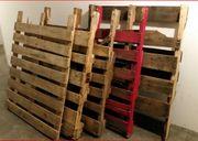 5x Gebrauchte Holzpaletten Paletten Geschenk
