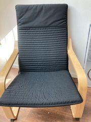 Sessel inkl Hocker