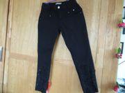 Jeans Gr 36 schwarz von