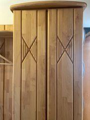 Garderobe set echtholz 3-teilig