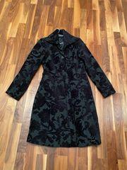 DESIGUAL Mantel schwarz- wie neu