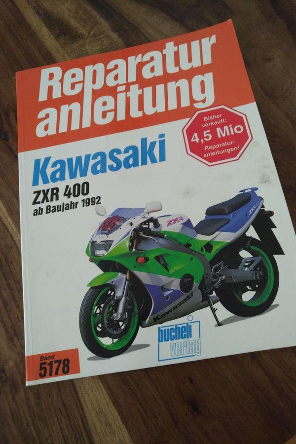 Reparaturanleitung Kawasaki 400 ZXR