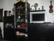 Wohnzimmer Anbauwand gegen Abholung zu