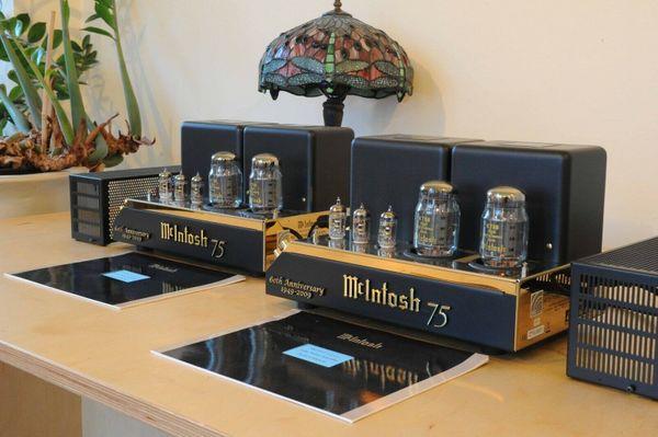 McIntosh MC75 60th Anniversary Röhrenendstufen