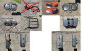 Aprilia ETX350 Zubehör verschiedene Teile