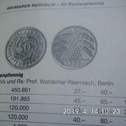 50 Rentenpfennig 1924