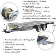 Auto PKW Anhänger Transport Überführung