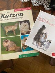 2 Bücher über Katzen