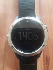 Fitness- GPS-Uhr Garmin Fenix 5
