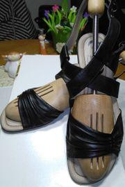 JANA Sport Damen Sandalen schwarz
