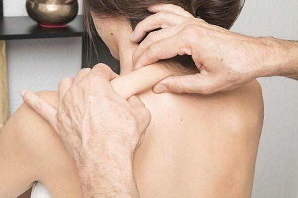 mobile klassische Rückenmassage für Frauen