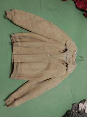 NEUSA Leder Winter Mantel Jacke