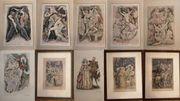 Original Radierungen von Kurt Hilscher