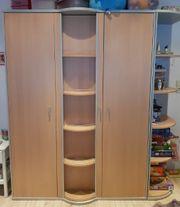 PAIDI Kinderzimmermöbel 3-tlg Kleiderschrank Kommode