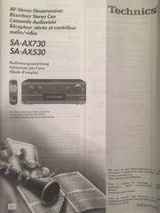 TECHNICS Receiver sa-ax730