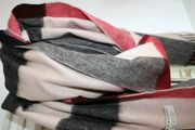 Burberry Schal groß Hellbeige Poncho