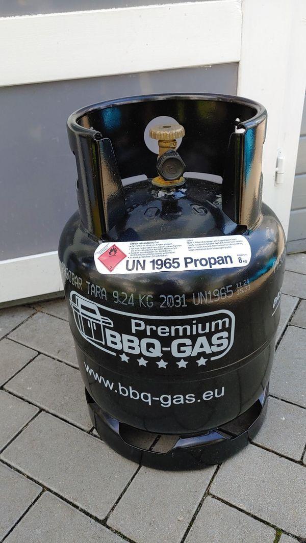 Premium BBQ Propangasflasche 8kg befüllt