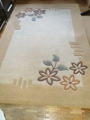 Teppich Schurwolle 170x220 cm