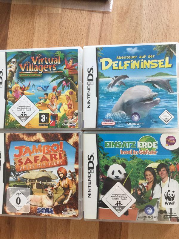 4 Nintendo DS Spiele Insel