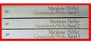 MARIELUISE FLEISSER - Gesammelte Werke 3