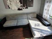 Couch Wohnlandschaft mit Schlafoption