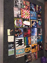 Schallplatten und CD Sammlung zu