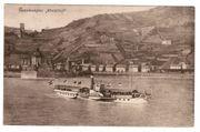 Rheinschiff Raddampfer Rheinlust AK