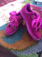 puma Pink Suede Sneaker 40