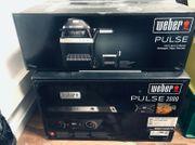 Weber Pulse 2000 mit Rollwagen