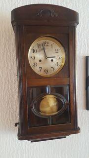 Uhr Wanduhr Antiquität Haushaltsauflösung