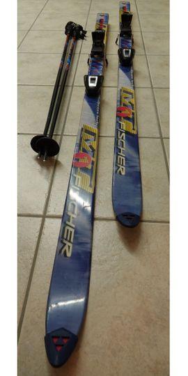 Wintersport Alpin - Fischer Alpin-Ski MT1 - 185 cm