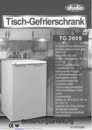 Gefrierschrank Studio 85 Liter