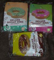 NEU aufblasbarer Schwimmreifen Donut mit