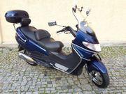 Suzuki Burgman400 München Dunkelblau Heckkoffer