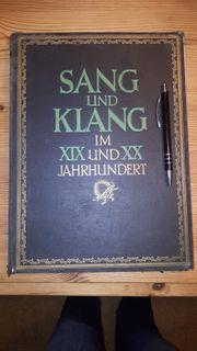 Antike Notenbücher und Hefte