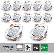 10x 5w LED Einbaustrahler ultra