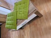 Sitzbank kleiner Bett Schrank