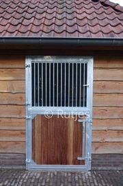 10 Paddock Tür mit Sicherheitsglas