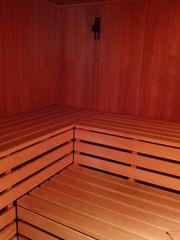Sauna inkl Solarium