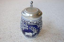 Verkaufe sehr schönen Bierkrug mit: Kleinanzeigen aus Niddatal - Rubrik Sonstige Sammlungen