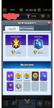 clash Royale Account Lv13